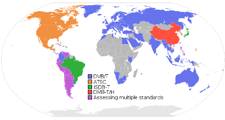 Terrestrial Digital Broadcast Standards